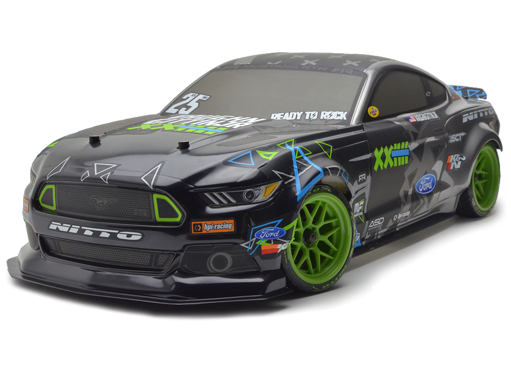 HPI RS4 Sport 3 Drift Vaughn Gittin Jr. Fun-Haver Ford Mustang RTR 115984