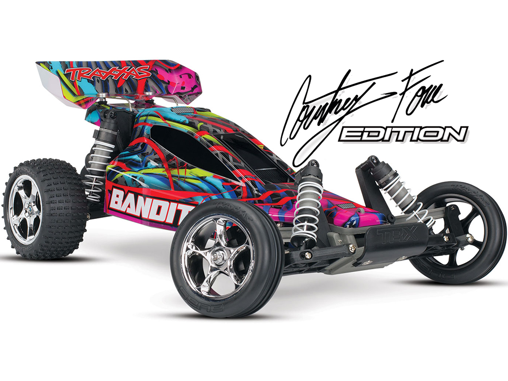 Traxxas Bandit XL-5 iD RTR (Courtney Force) 24054-1CF