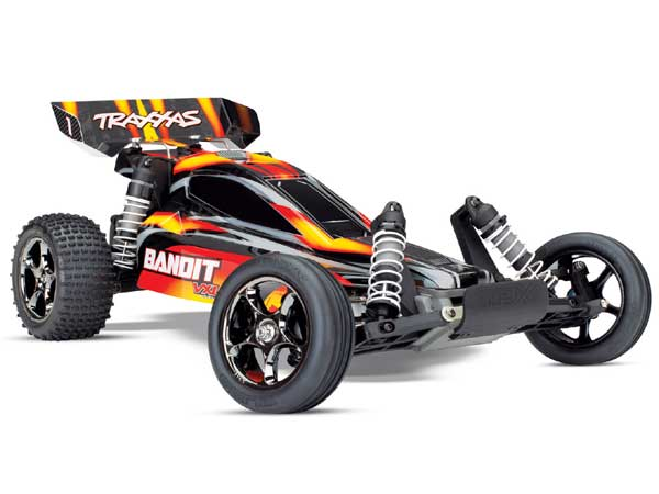 Traxxas Bandit VXL Brushless 2WD TSM - Red TRX24076-4-RED