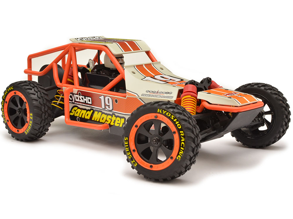 Kyosho Sand Master RTR (White) 30831T5RS