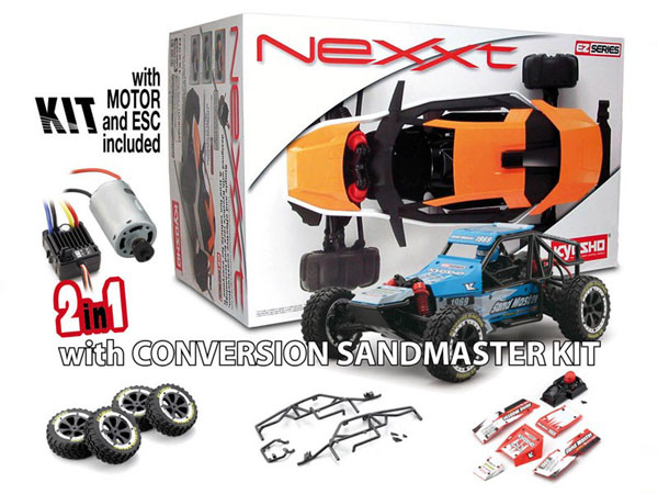 Kyosho NeXXt/ Sandmaster Assembly Kit 2 in 1 (Red) 30835SM-R