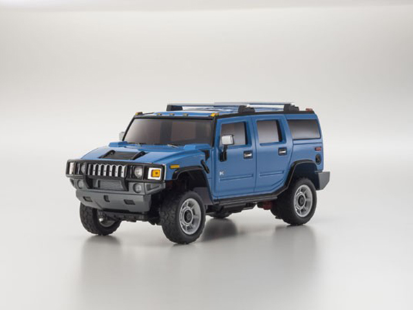 Kyosho Mini Z Overland MV01 Sports Hummer H2 - Blue 32062BL
