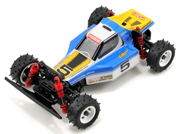 Kyosho Mini-Z MB10S 4wd 1/24 Optima Blue/White - Readyset 32082BW
