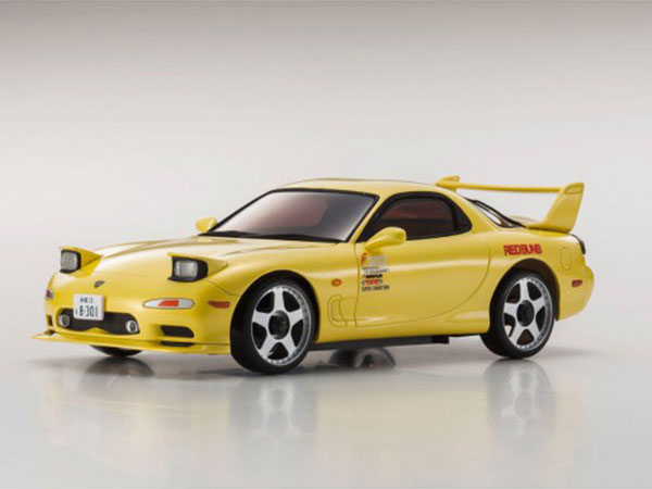 Kyosho Mini Z MA020 Sports 4wd Mazda RX7 FD3S - Yellow 32129Y
