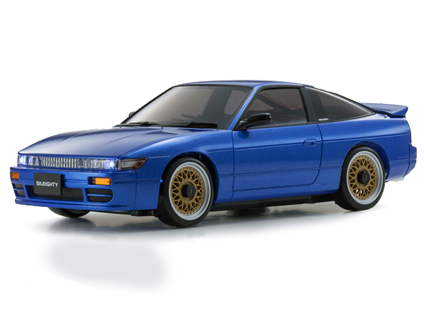 Kyosho Mini Z MA020 Sports 4wd Nissan Sileighty - Blue 32136BL
