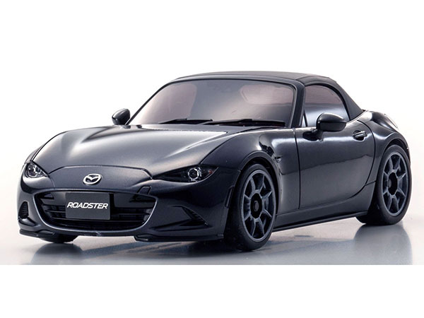 Kyosho Mini Z MA020 Sports 4wd Mazda Roadster - Jet Black 32137BK
