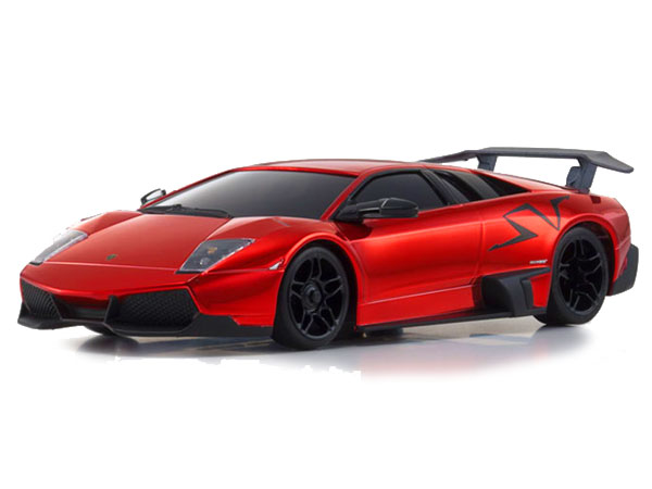Kyosho MINI-Z MR-03S Lamborghini Murcielago LP670-4 SV - Chrome Red 32208CR