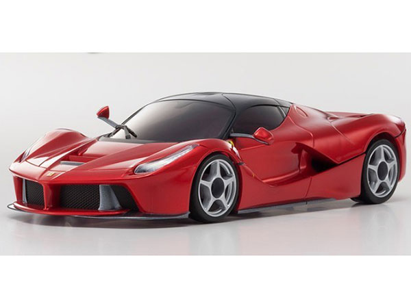 Kyosho Mini Z MR03 Sports 2 Ferrari La Ferrari - Chrome Red 32212GMR