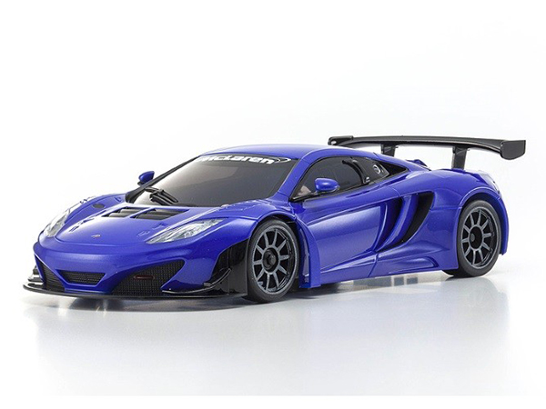 Kyosho Mini Z MR03 Sports 2 MacLaren MP4-12C GT3 - Metal Blue 32217GMB