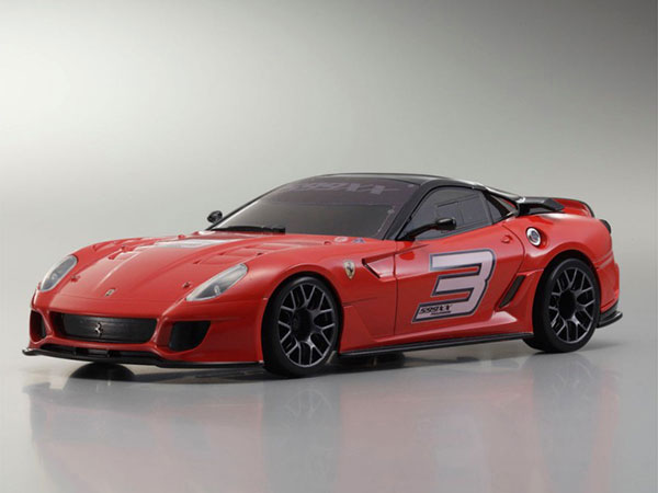 Kyosho Mini Z MR03 Sports 2 Ferrari 599XX No3 - Red 32224GR