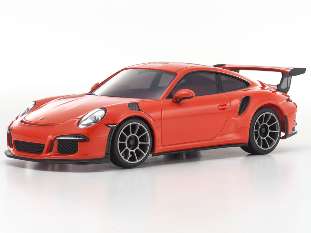 kyosho mini z mr03 sports 2 porsche 911 gt3 rs orange. Black Bedroom Furniture Sets. Home Design Ideas