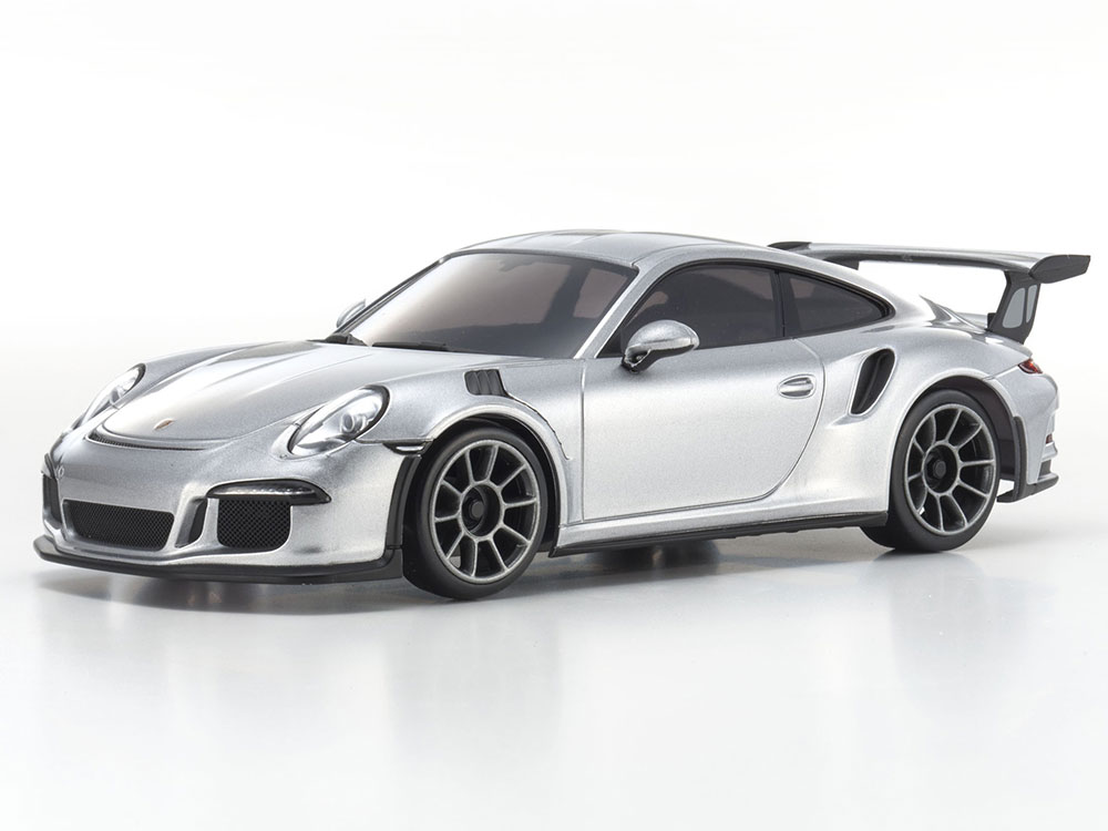 kyosho mini z mr03 sports 2 porsche 911 gt3 rs silver. Black Bedroom Furniture Sets. Home Design Ideas