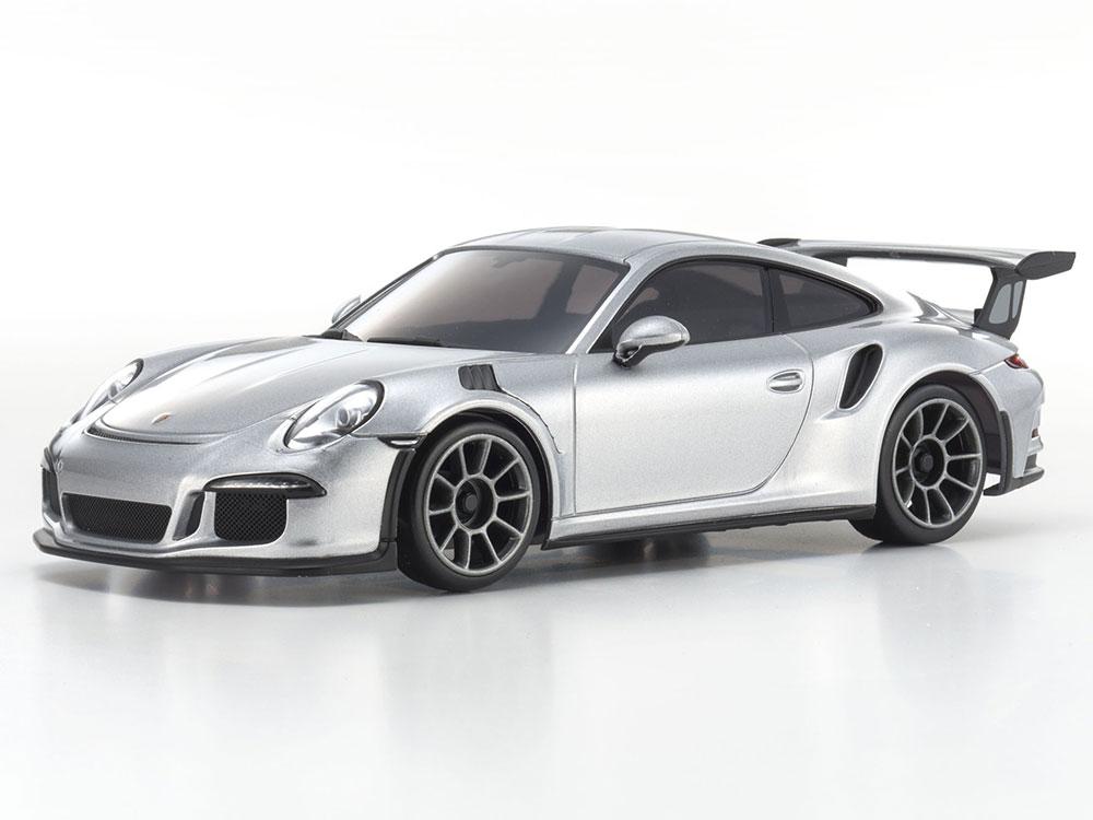 kyosho mini z mr03 sports 2 porsche 911 gt3 rs silver. Black Bedroom Furniture Sets. Home Design Ideas