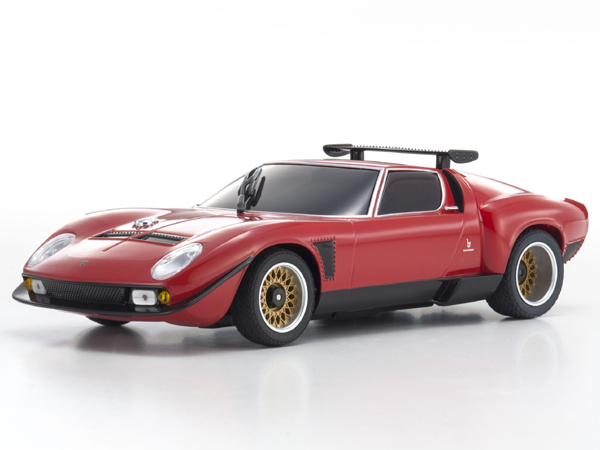 Kyosho MR03 SPORTS 2 LAMBORGHINI JOTA SVR RED (N-RM/KT19) 32242R