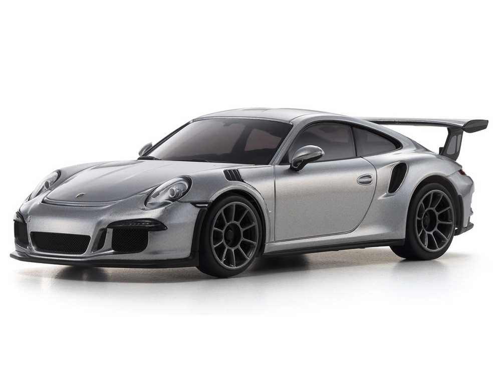 Kyosho Mini-Z RWD Porsche 911 GT3 RS - Silver (N-RM/KT531P) 32321S