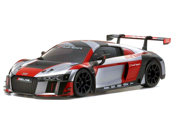 Kyosho Mini-Z RWD Audi R8 LMS 2016 Grey/ Red 32323RGB