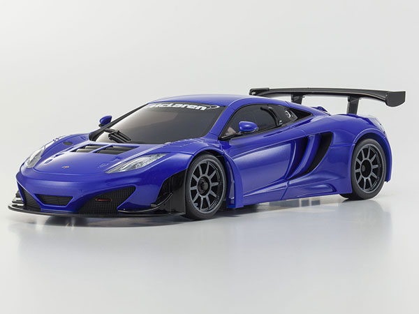 Kyosho Mini MR03 VE BCS Maclaren 12C GT3 2013 - Blue 32765MB