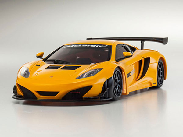 Kyosho Mini MR03 BE BCS Maclaren 12C GT3 2013 - Orange 32765OR