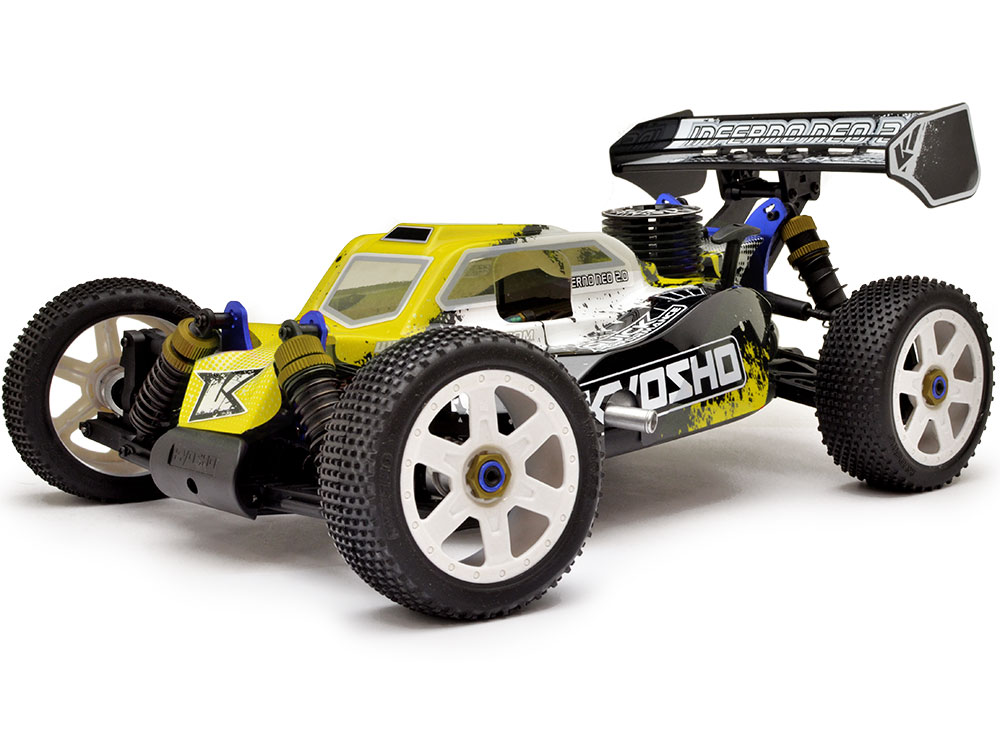 Kyosho Inferno Neo 2.0 Readyset T4 KE21 Engine - Yellow 33003T4B