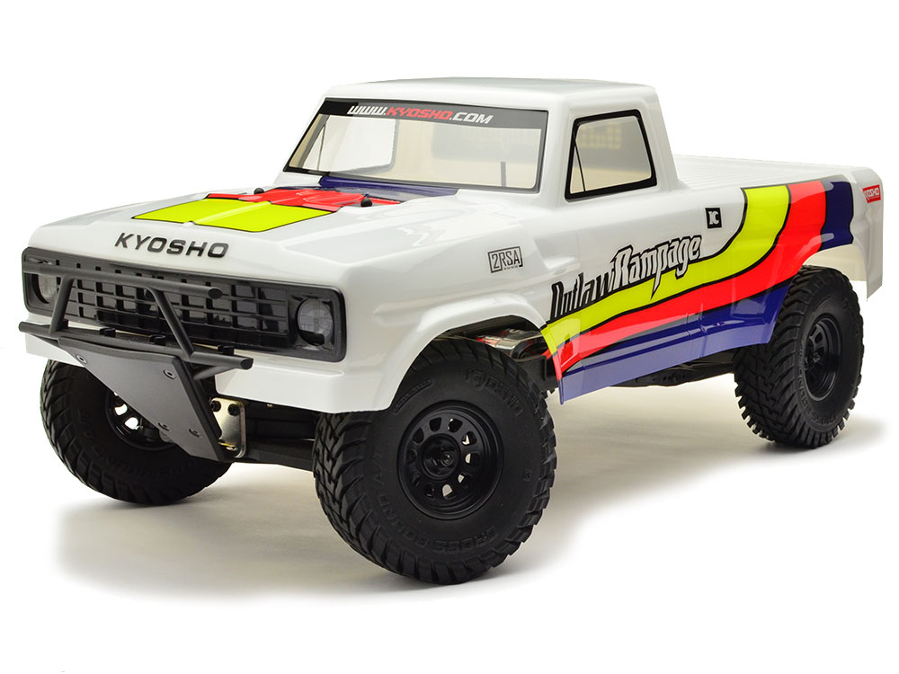 Kyosho Outlaw Rampage 1:10 EP 2WD Truck - White 34361T1B