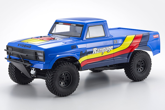 Kyosho Outlaw Rampage 1:10 EP 2WD Truck - Blue 34361T2B