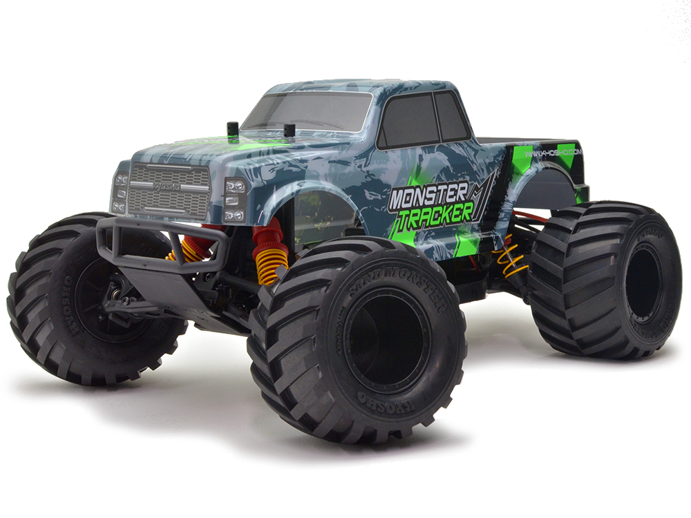 Kyosho Monster Tracker 1:10 EP Buggy Ready Set - T1 Green/Grey 34403T1B