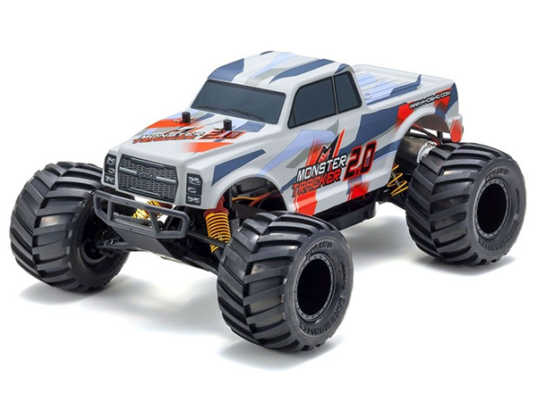 Kyosho Monster Tracker 2.0 1:10 EP Readyset - Red 34404T2B