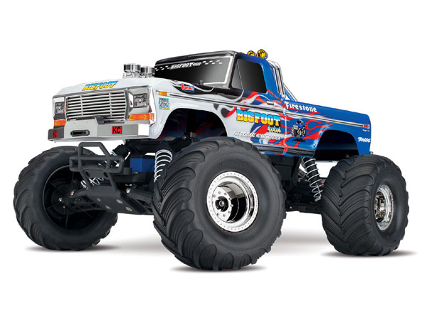 Traxxas BigFoot No.1 Original Monster Truck - Flame Edition TRX36034-1-FLME