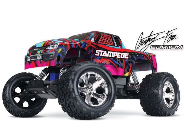Traxxas Stampede XL-5 iD RTR (Courtney Force) 36054-1CF