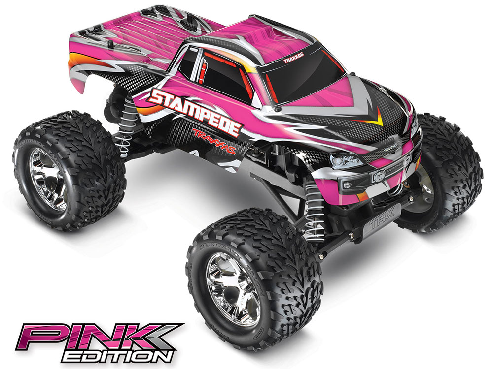 Traxxas Stampede XL-5 iD RTR (Pink) 36054-1PK