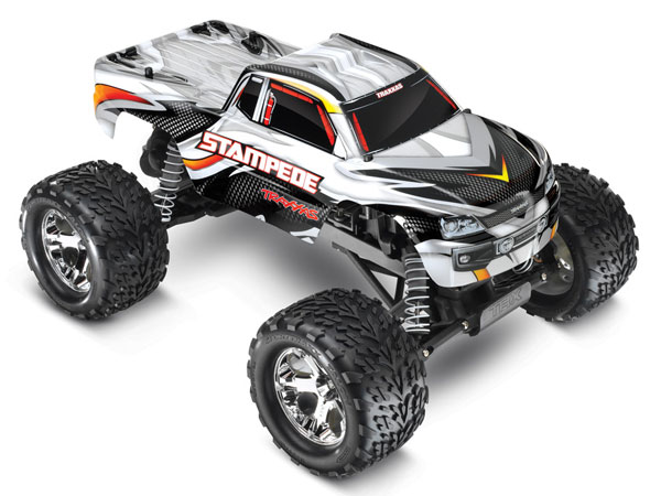 traxxas stampede xl 5 id rtr white 36054 1w ebay. Black Bedroom Furniture Sets. Home Design Ideas