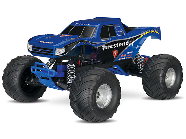 Traxxas BigFoot 1/10 Scale Monster Truck RTR - Blue TRX36084-1-FSTN