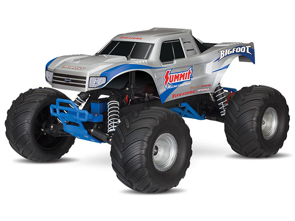 Traxxas BigFoot 1/10 Scale Monster Truck RTR - Silver TRX36084-1