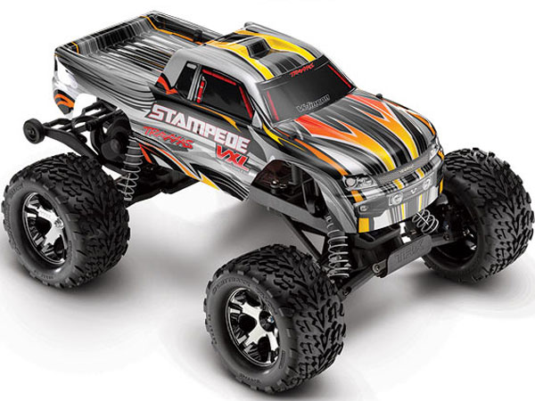 Traxxas Stampede VXL 2.4GHz RTR TSM (Silver) 36076-3S