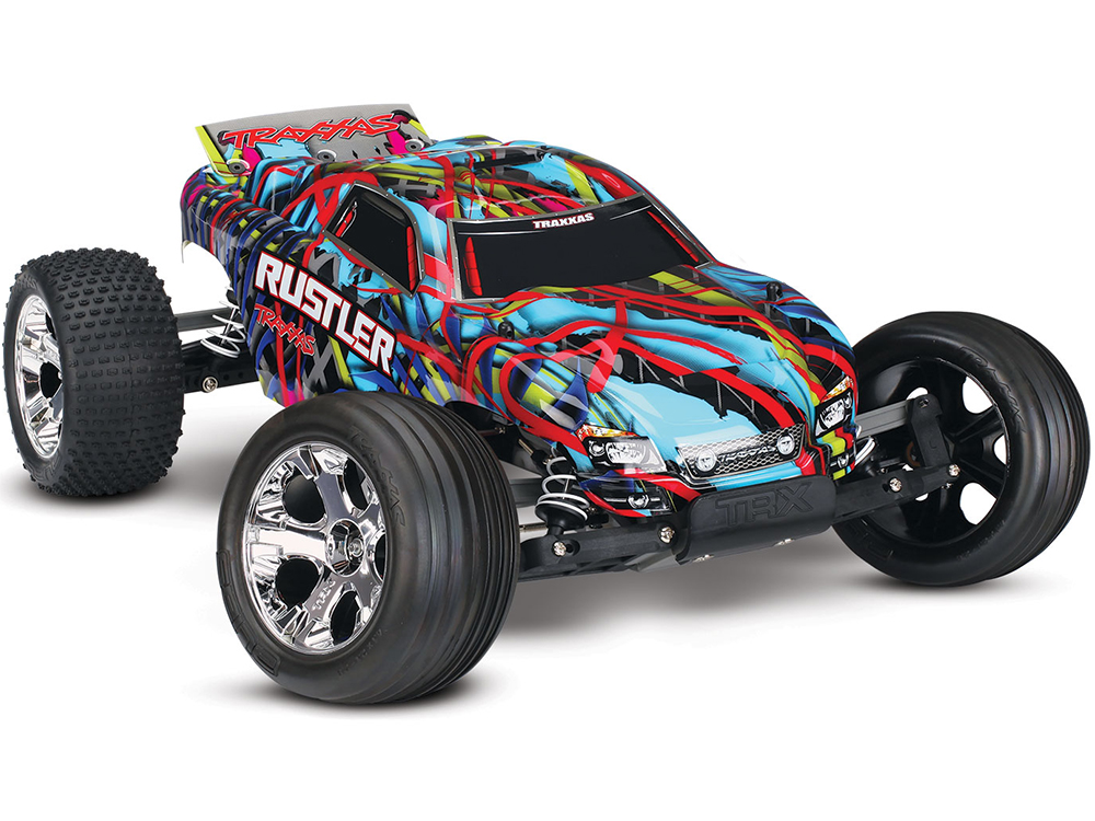 Traxxas Rustler XL-5 iD RTR (Courtney Force) 37054-1CF