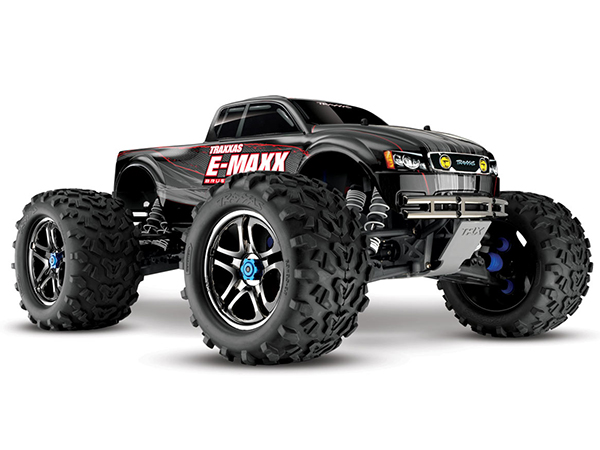 Traxxas E-Maxx MXL-6s TSM Brushless Monster Truck - Black 39086-4BK
