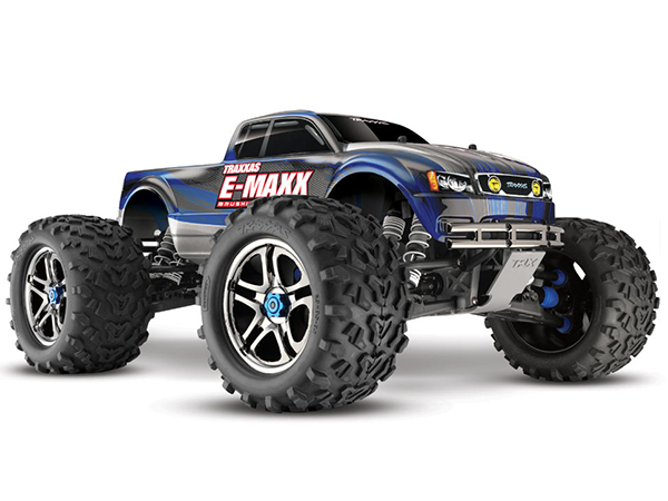 Traxxas E-Maxx MXL-6s TSM Brushless Monster Truck - Blue 39086-4BU
