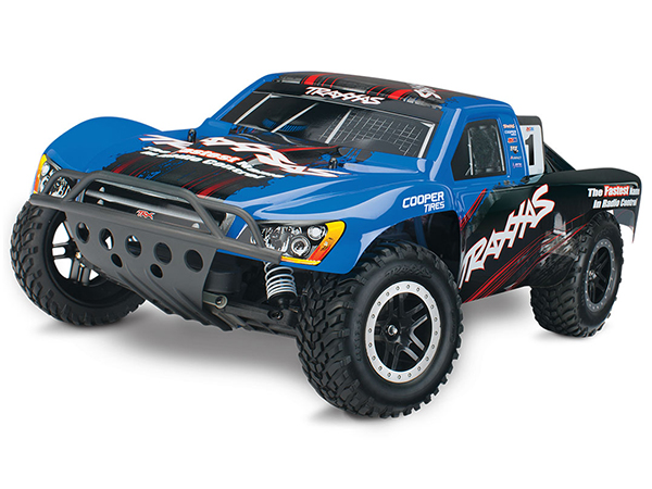 Traxxas Nitro Slash 3.3 TSM - Blue Edition TRX44056-3-BLUE