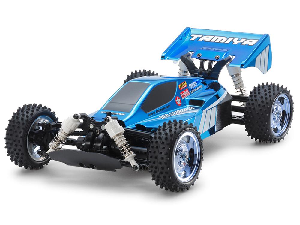 Tamiya Neo Scorcher Blue Metallic (TT 02B) 47346