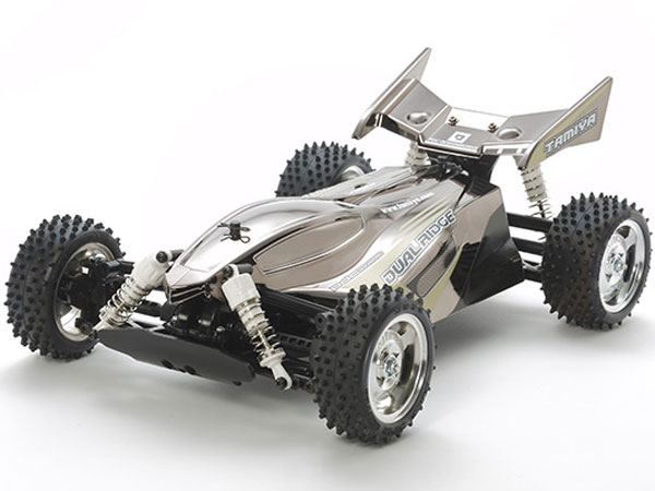 Tamiya Dual Ridge Black Metallic - TT-02B 47355