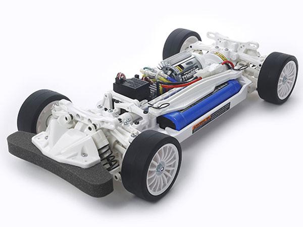 Tamiya TT-02 White Special Ltd. Chassis Kit 47364