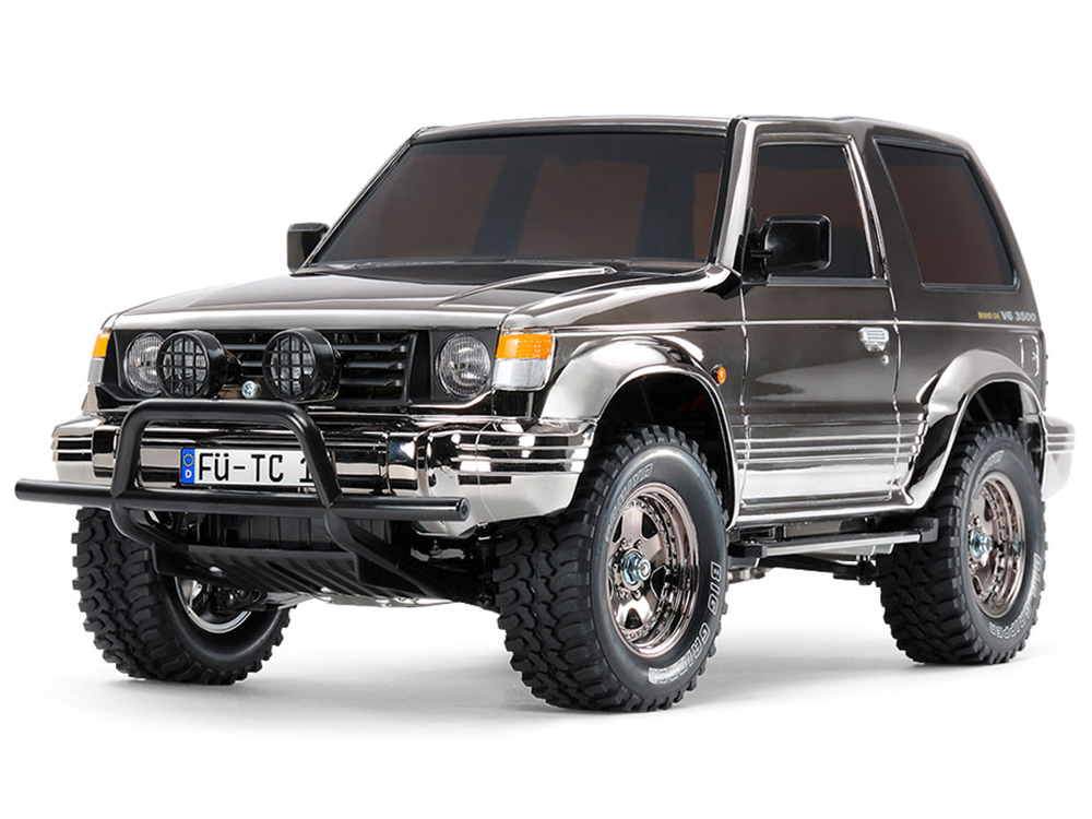 Tamiya RC Pajero Metaltop Wide - CC01 Black Metallic 47375
