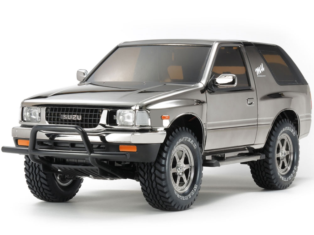 Tamiya Isuzu MU Type X Black Metallic - CC-01 47383