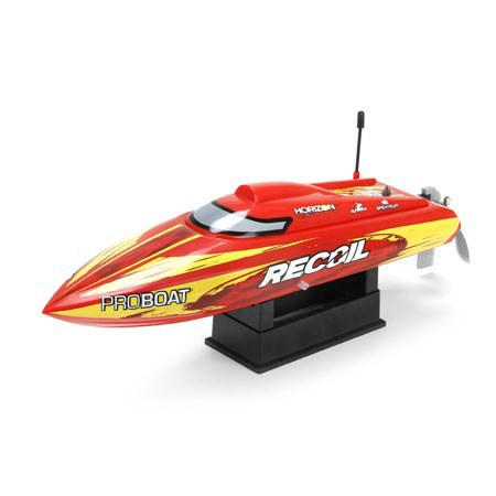 ProBoat Recoil 17 SelfRighting Deep V Brushless: RTR Int PRB08016I