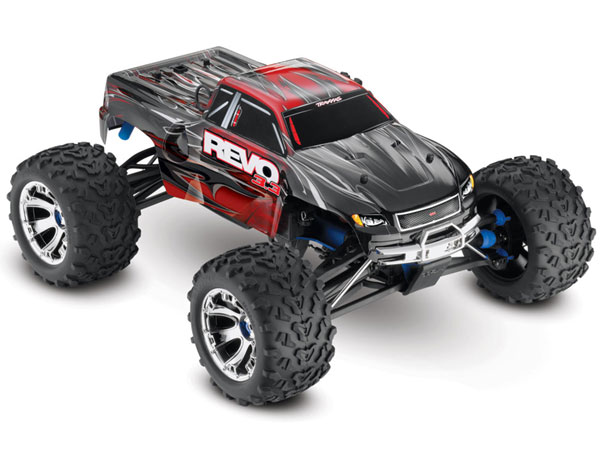 Traxxas Revo 3.3 TQi TSM Bluetooth (Red) 53097-3R