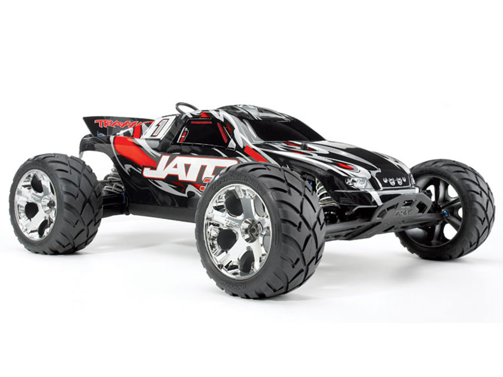 Traxxas Jato 3.3 2WD 2 Speed TQi, TSM - Red 55077-3RD
