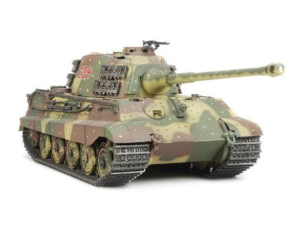 Tamiya King Tiger with Option Kit 56018