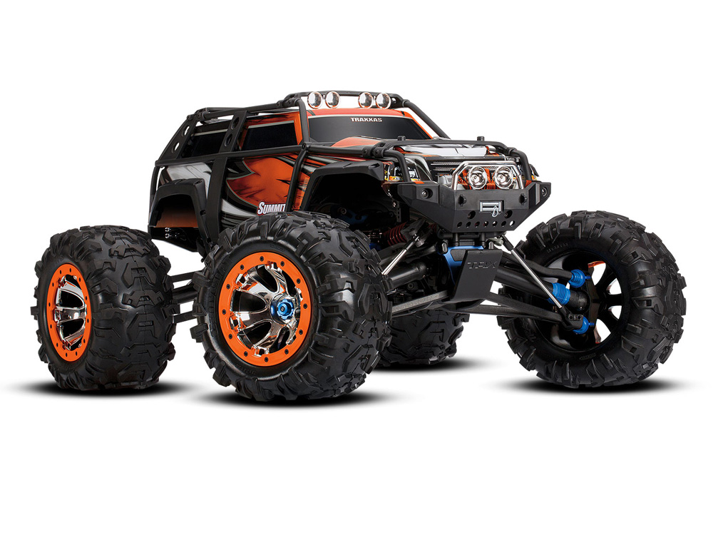 Traxxas Summit TQi 2.4GHz RTR (Orange) TRX56076-4-ORNG
