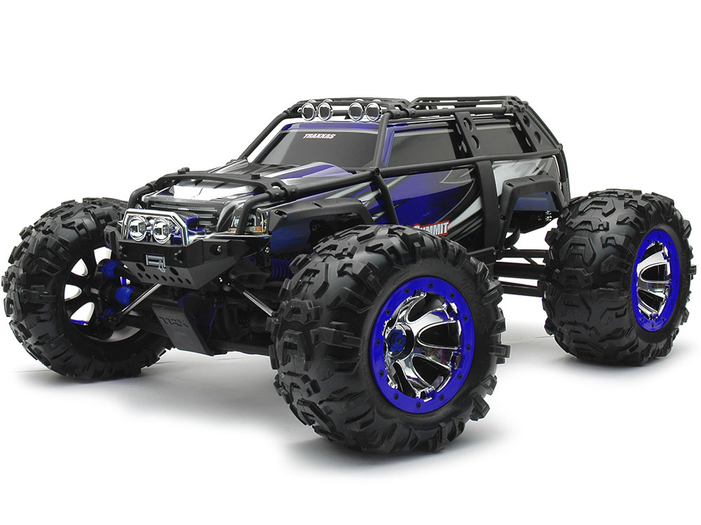 Traxxas Summit TQi 2.4GHz RTR (Blue) 56076-4BU