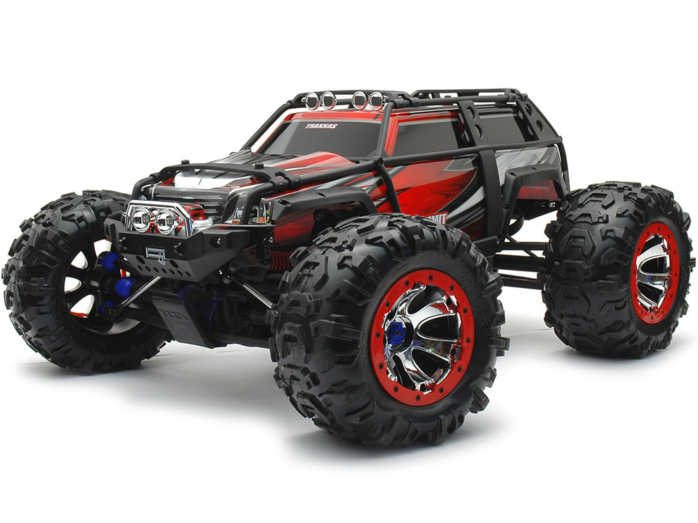 Traxxas Summit TQi 2.4GHz RTR (Red) TRX56076-4-RED